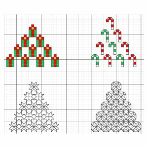 "<center><a target=""_blank"" href=""https://www.aurifil.com/wp-content/uploads/2019/07/7.13-Xmas-trees-xstitch-and-blackwork.pdf"">Day 13 - Christmas Trees</a></center>"